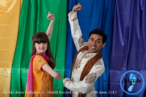 Releasing our first promotional image for 'Khushi does Bollywood'. Emily Cook (founder of Khushi Feet) and Ash Mukherjee (Indian dancer and choreographer). (Photography by Samantha Jones.)