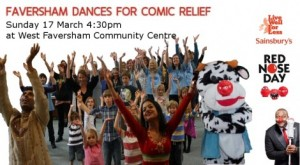 Khushi Dances for Comic Relief