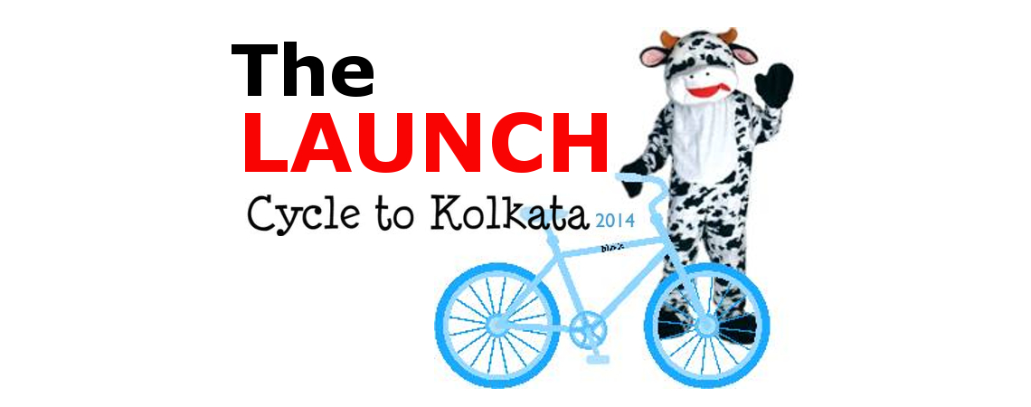 Cycle To Kolkata 2014: The Launch