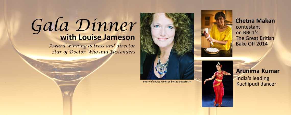 Gala Dinner with Louise Jameson