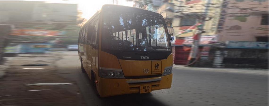 A New School Bus!