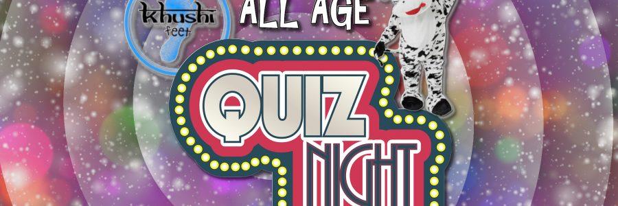Khushi's All Age Quiz Night